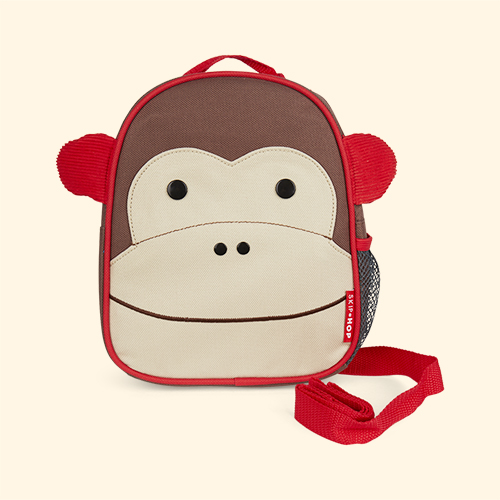 Monkey Skip Hop Zoolet Mini Backpack with Reins
