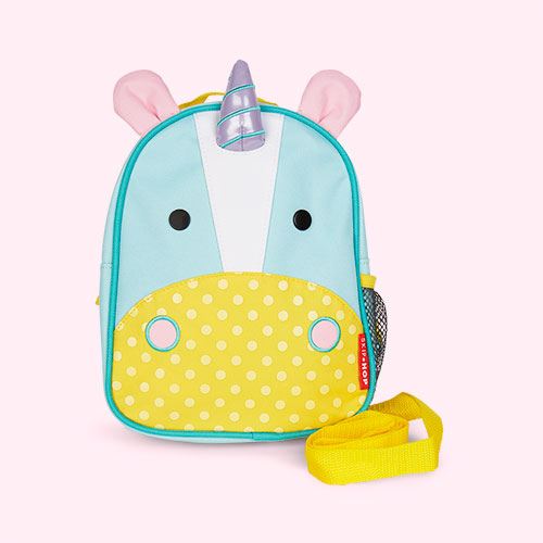 Unicorn Skip Hop Zoolet Mini Backpack with Reins