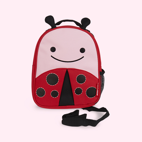 Ladybug Skip Hop Zoolet Mini Backpack with Reins