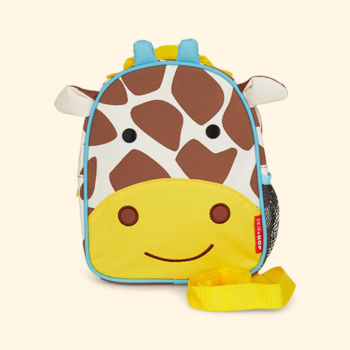 Giraffe Skip Hop Zoolet Mini Backpack with Reins