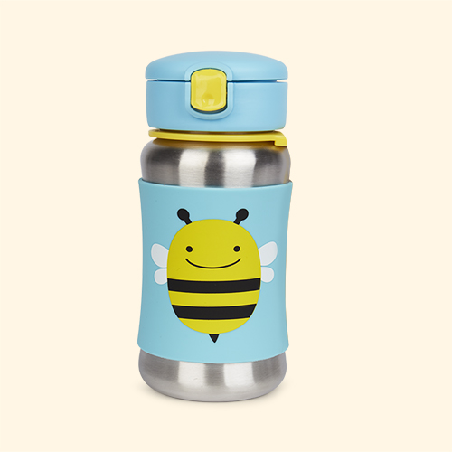 Bee Skip Hop Zoo Stainless Steel Straw Cup