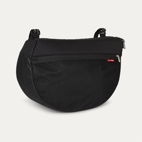 Black Skip Hop Grab & Go Pushchair Saddle Bag