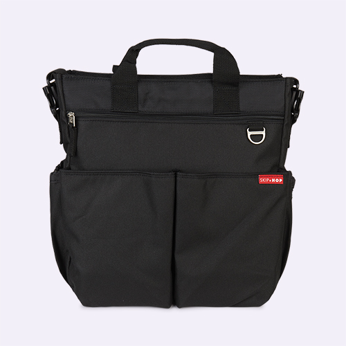 Black Skip Hop Duo Signature Changing Bag