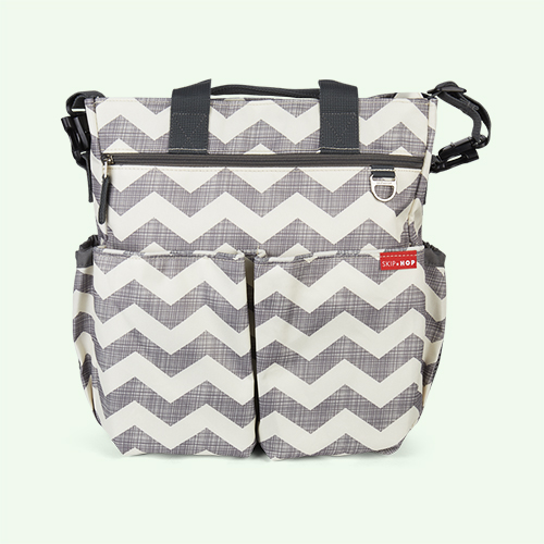 Chevron Skip Hop Duo Signature Changing Bag