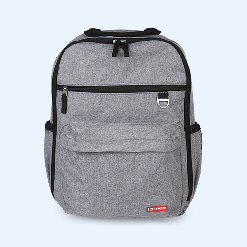 Grey Skip Hop Duo Backpack Changing Bag