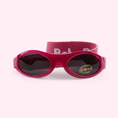 Pink Banz Baby Sunglasses