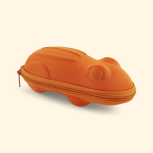 Orange Frog Banz Sunglasses Case