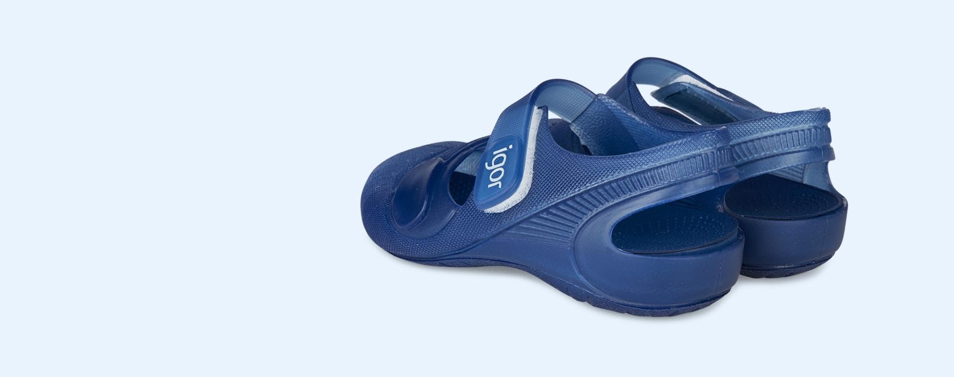 Blue igor Bondi Jelly Shoe