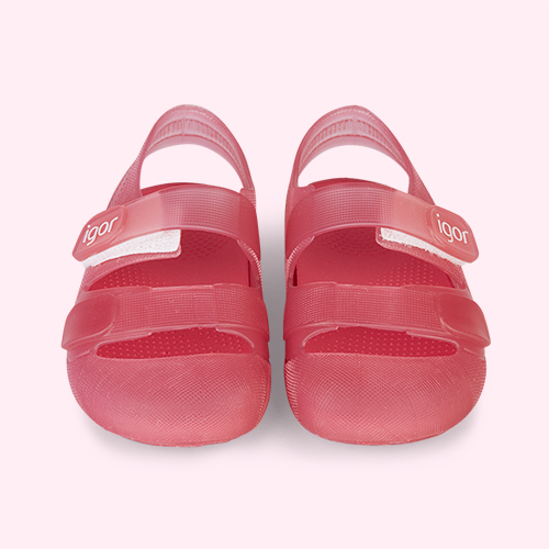 Pink igor Bondi Jelly Shoe