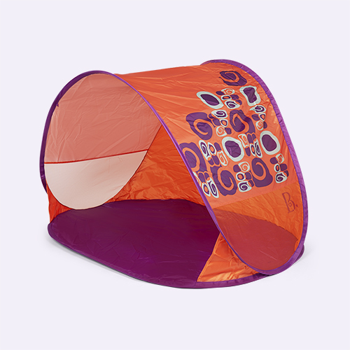 Orange B. Toys Pop Up & Away Tent