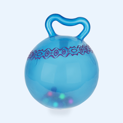 Blue B. Toys Hop n Glow Light Up Space Hopper Ball