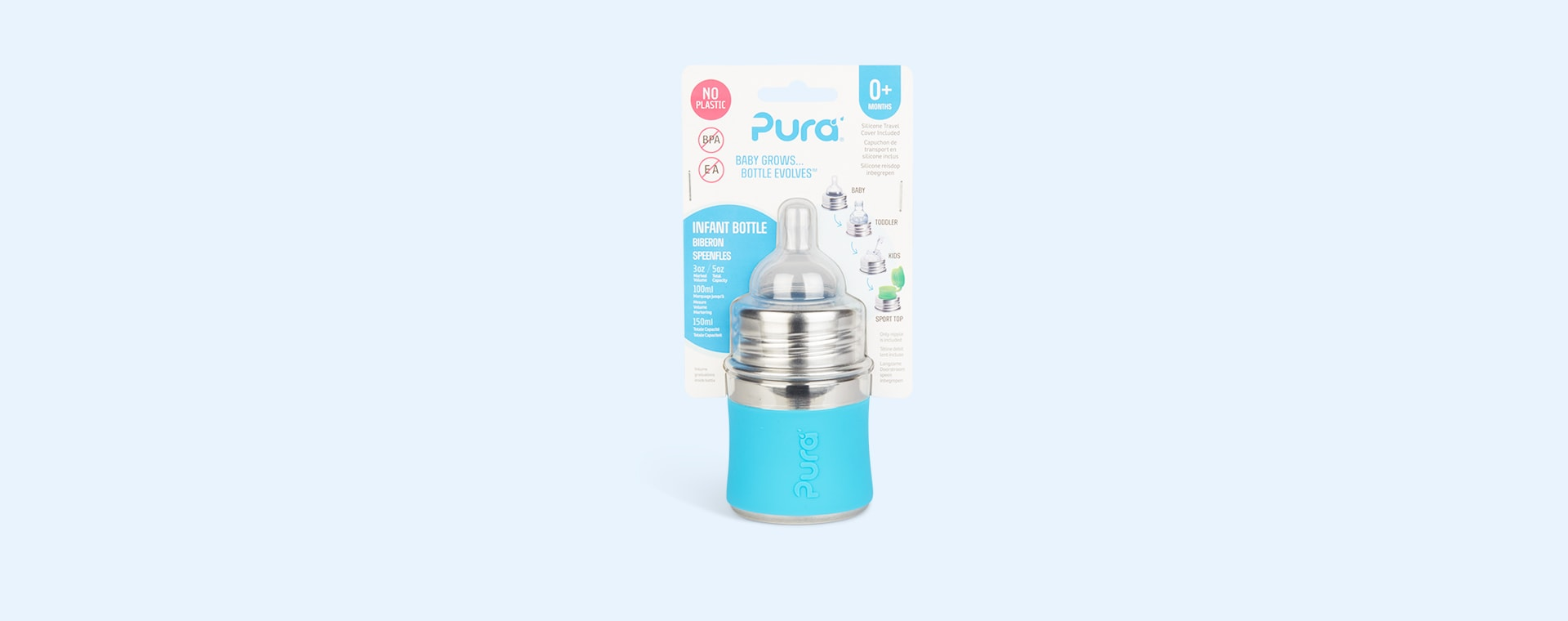 Aqua Pura 5oz Infant Bottle
