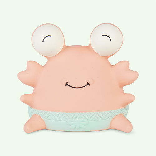 Cream B. Toys Crab B Teether