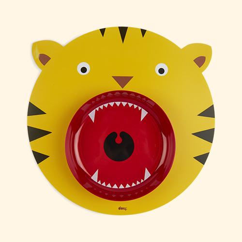 Tiger DOIY Hungry Mat & Bowl Set