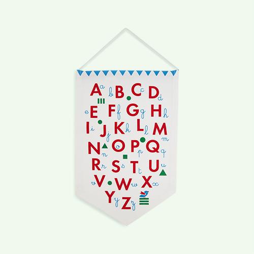 Multi Deuz Alphabet Banner