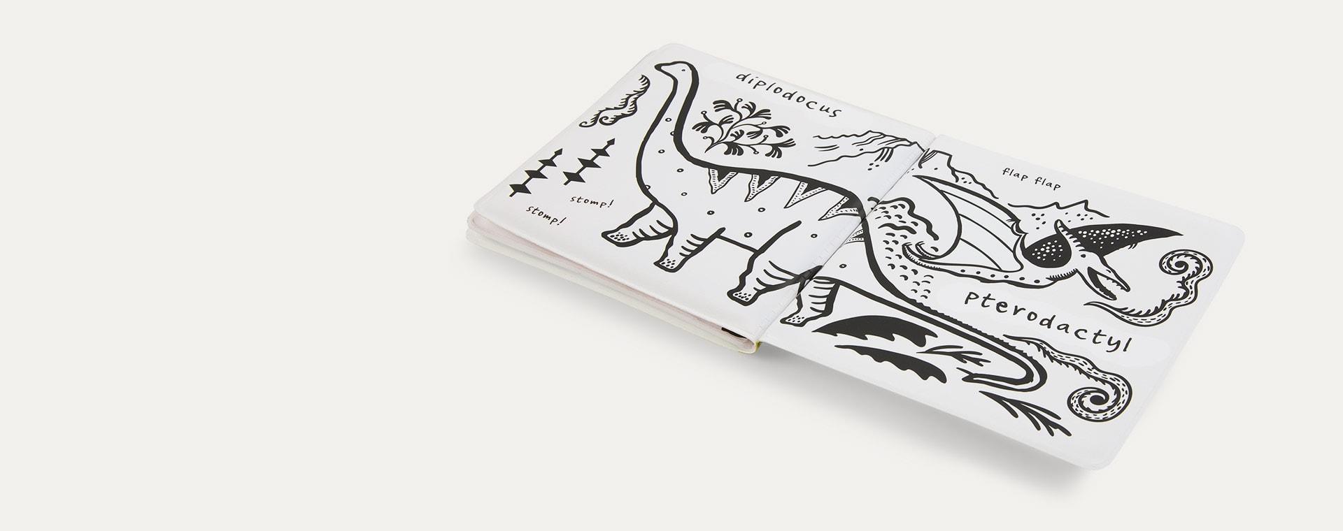Dinosaur Wee Gallery Colour Me Bath Book