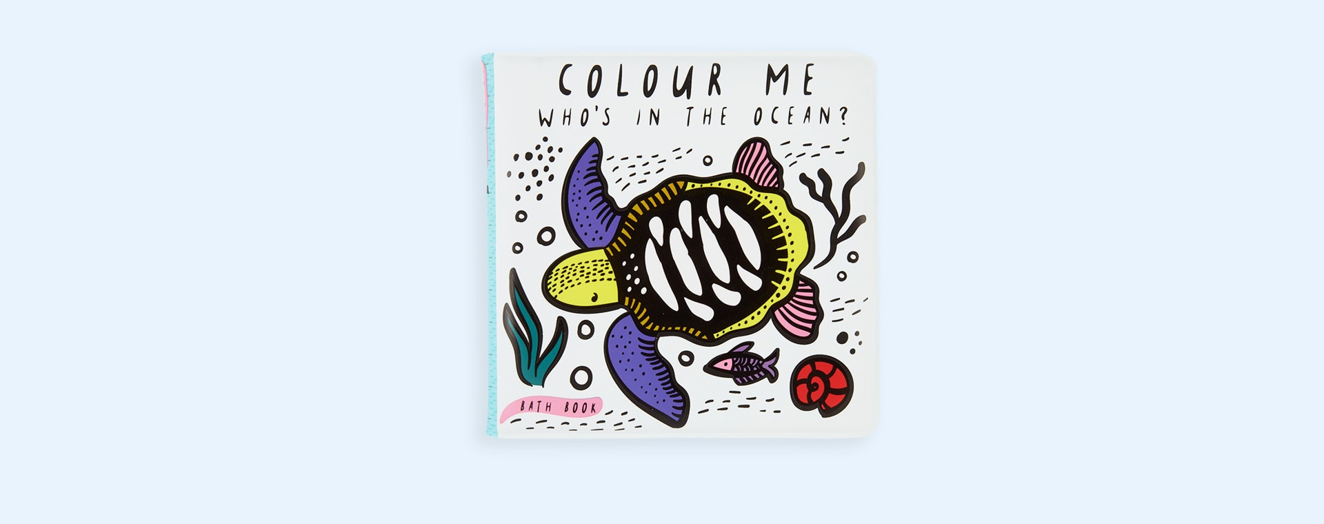 Ocean Wee Gallery Colour Me Bath Book