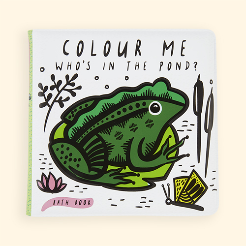 Pond Wee Gallery Colour Me Bath Book