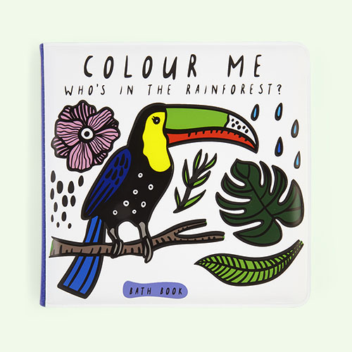 Rainforest Wee Gallery Colour Me Bath Book