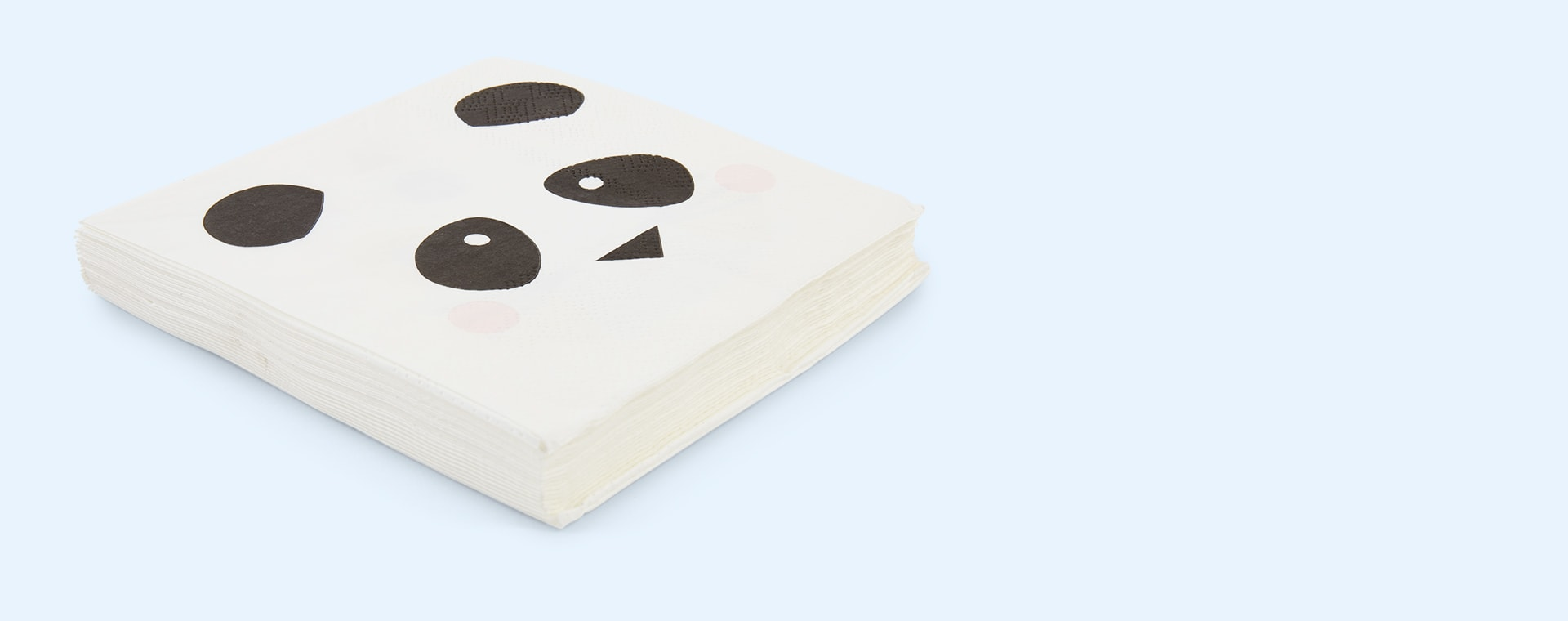 White My Little Day Mini Animals Paper Napkins - 20 Pack