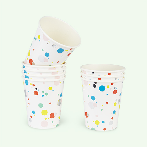 Multi My Little Day Bubbles Paper Cups - 8 Pack