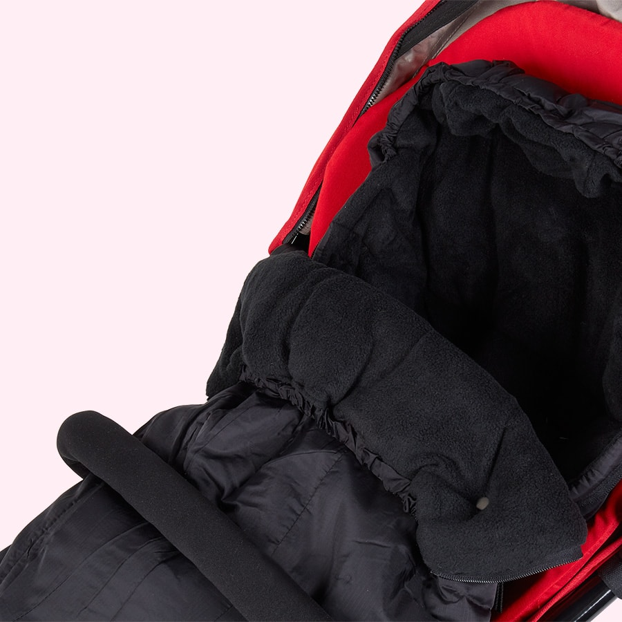 Black phil&teds Snuggle and Snooze sleeping bag