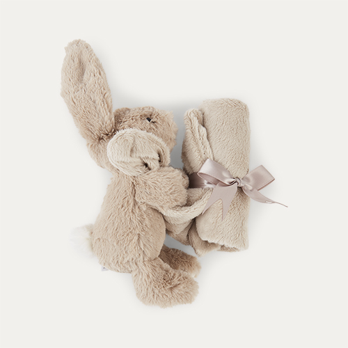 Beige Jellycat Bashful Bunny Soother