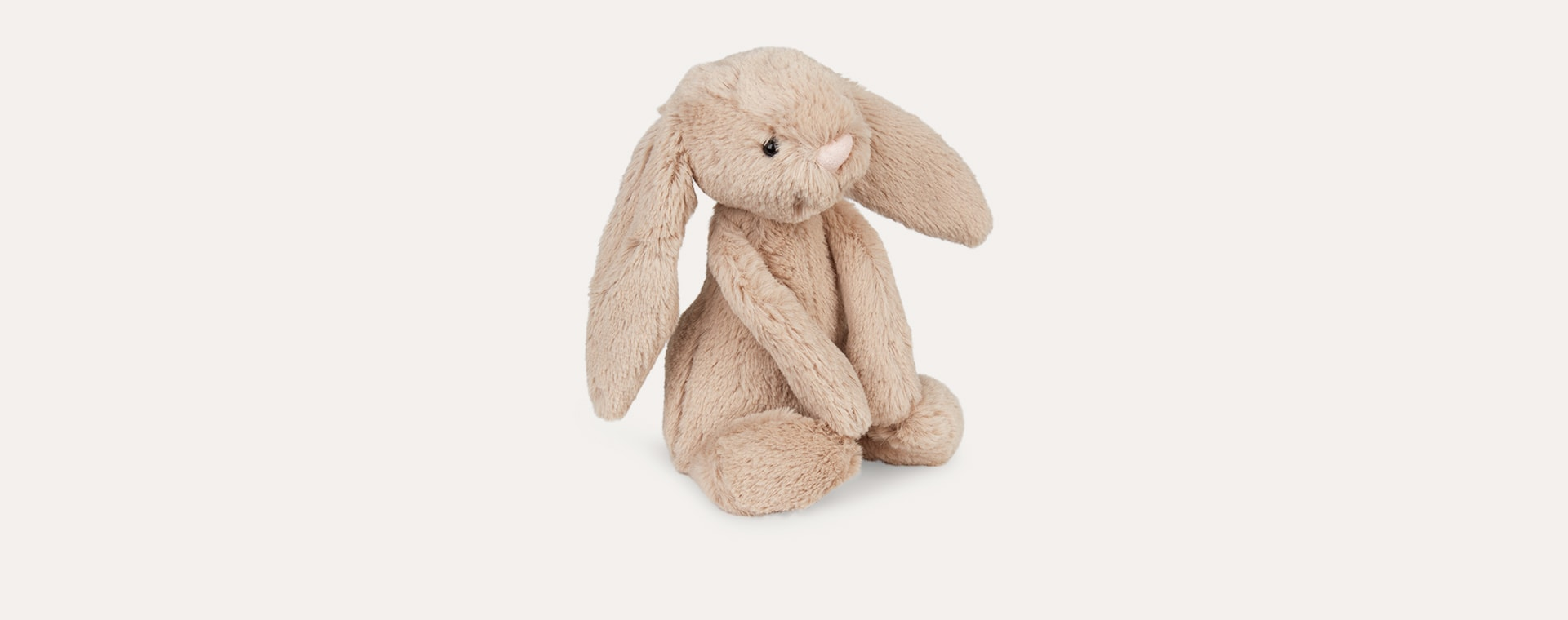 Beige Jellycat Small Bashful Bunny