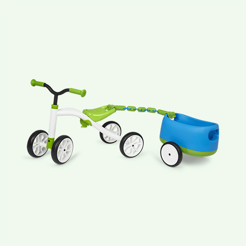 Lime Chillafish Quadie & Trailie Ride-On Quad