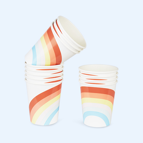 Multi Meri Meri Rainbow Party Paper Cups