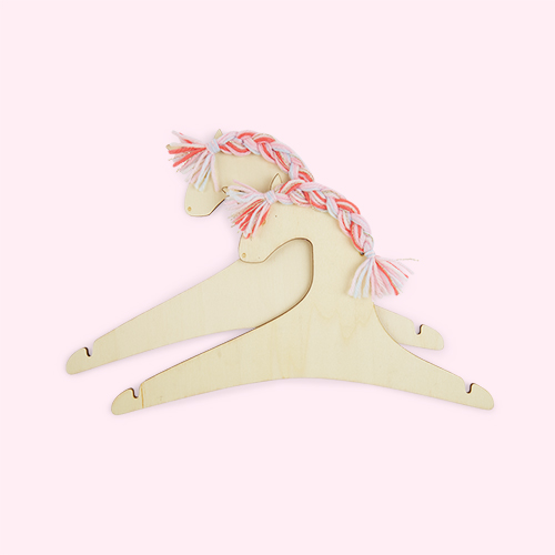 Unicorn Meri Meri Wooden Hangers - 2 Pack