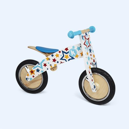Starz Kiddimoto Kurve Wooden Balance Bike