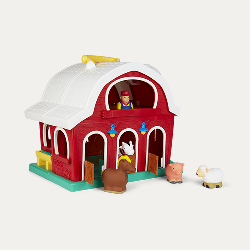 Red Battat Big Red Barn Playset