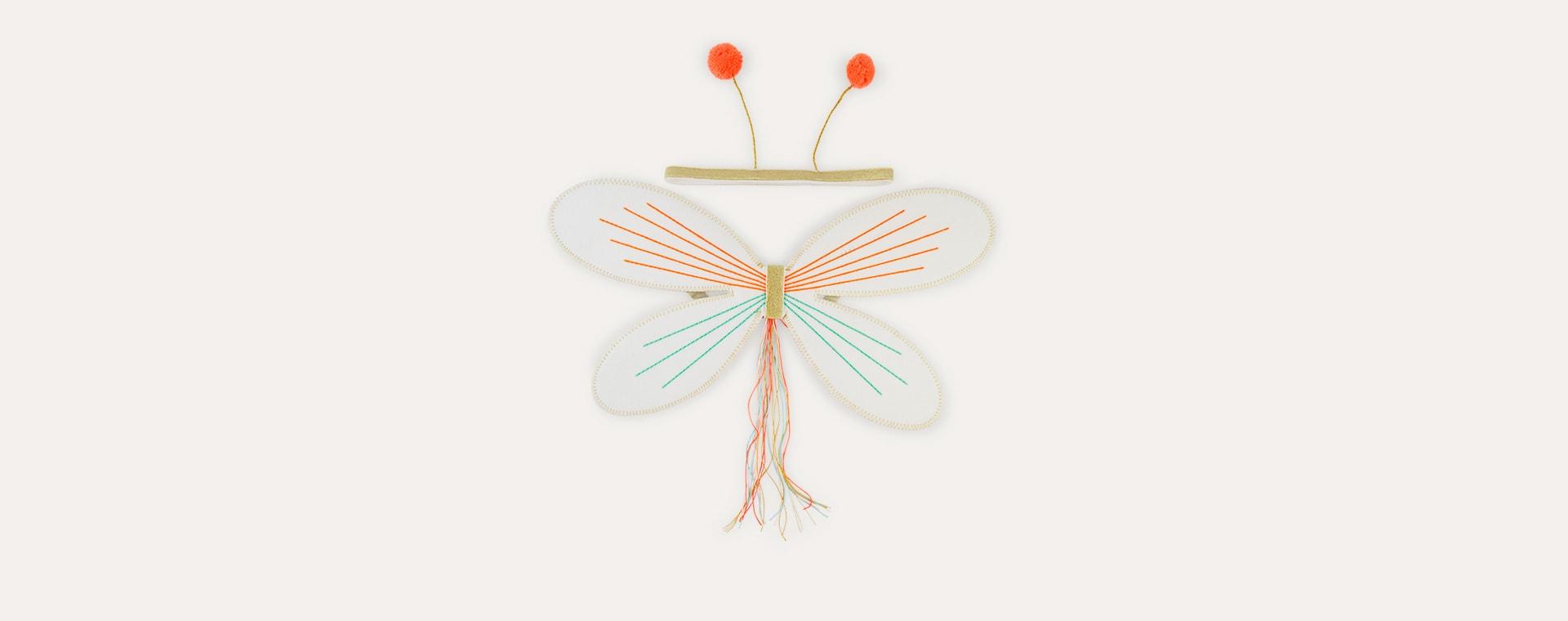 Cream Meri Meri Butterfly Dress Up Kit