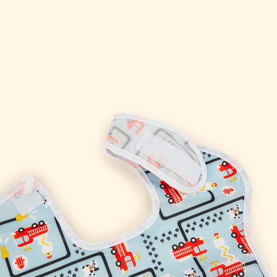 Fire Engine Bumkins SuperBib