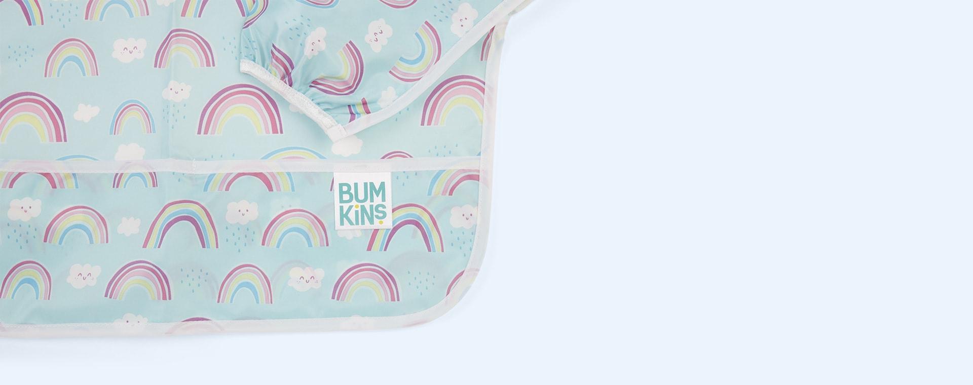 Rainbow Bumkins Sleeved Bib