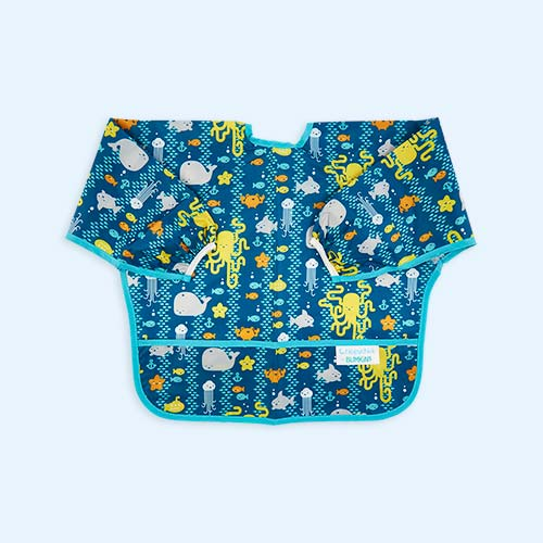 Sea Friends Bumkins Sleeved Bib