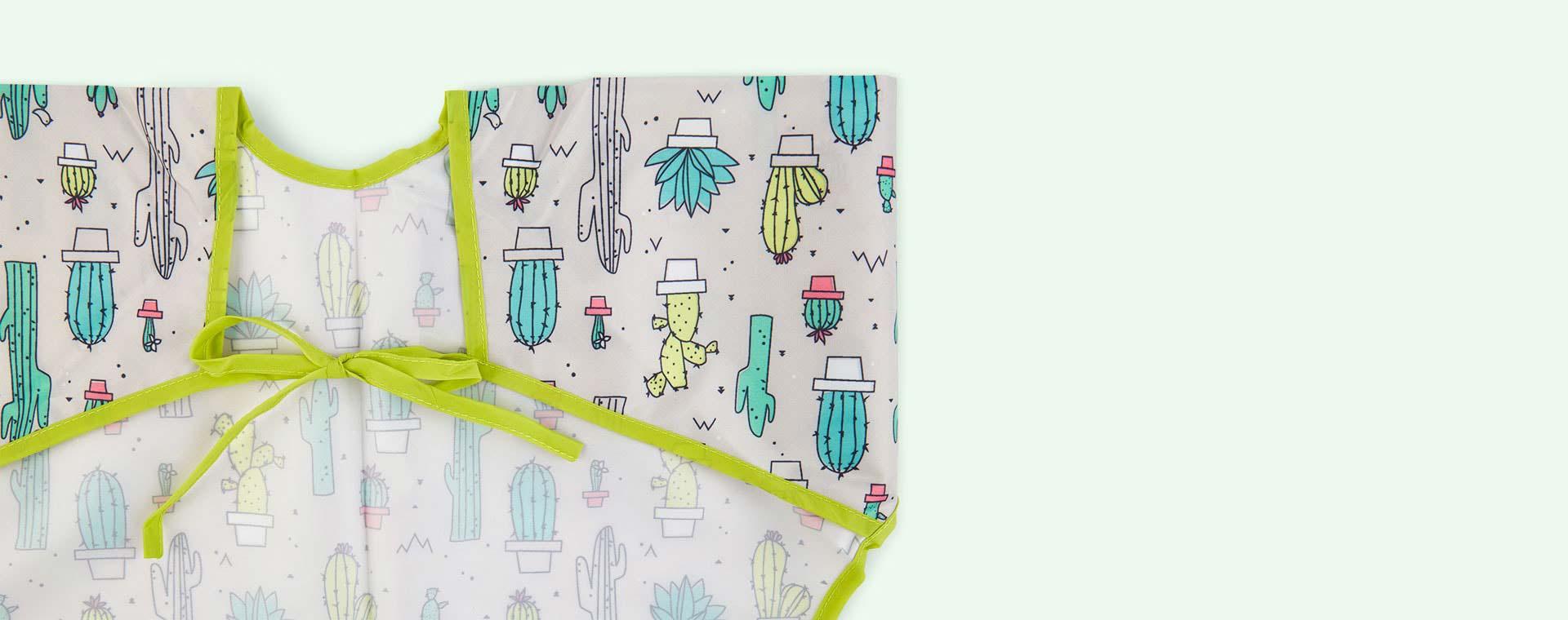 Cacti Bumkins Sleeved Bib