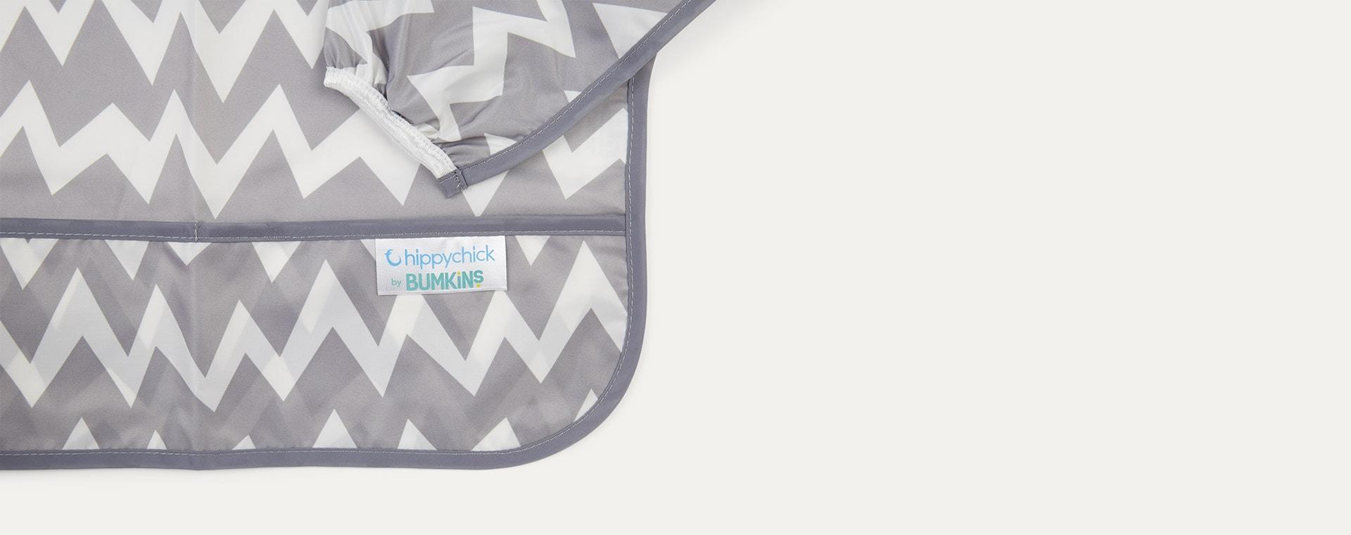 Chevron Bumkins Sleeved Bib