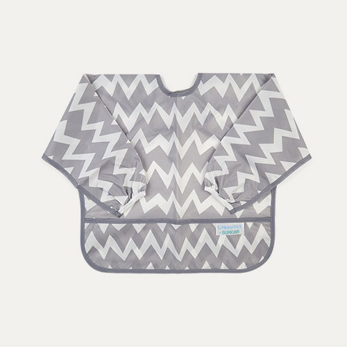 Chevron Bumkins Sleeved Bib