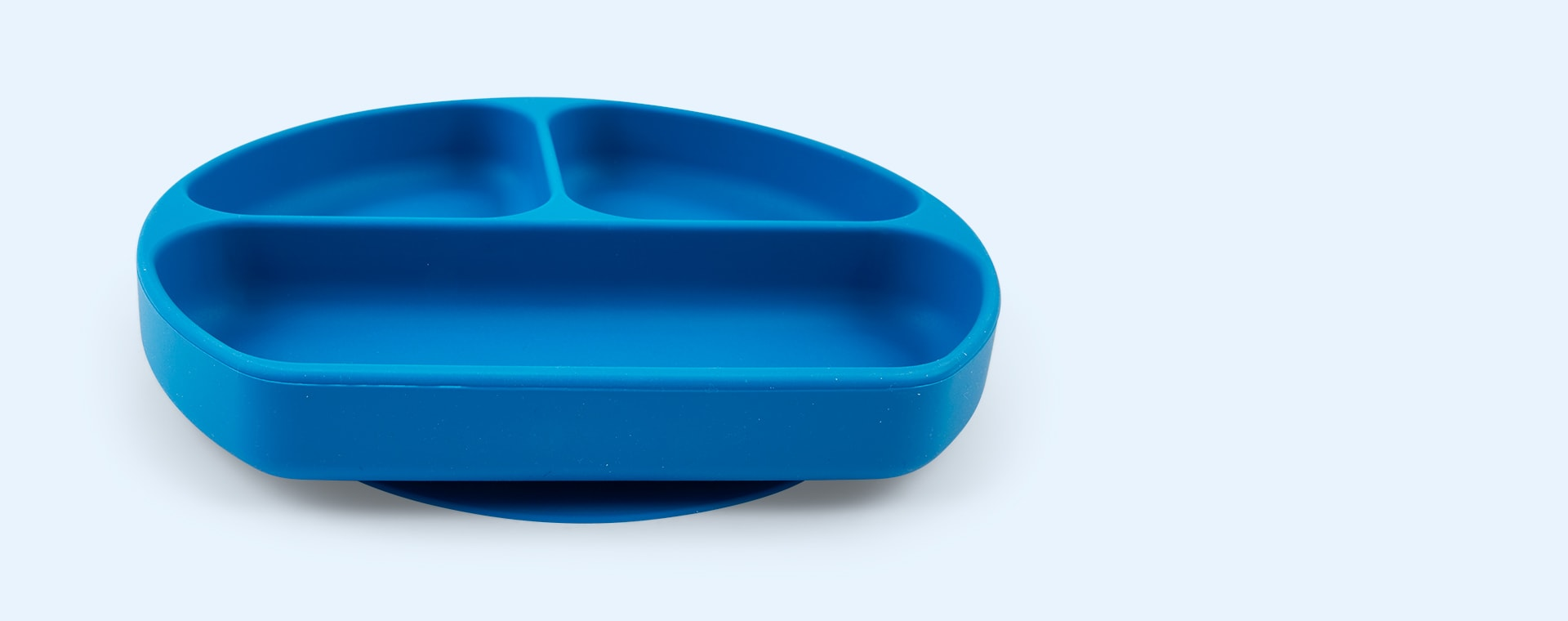 Deep Blue Bumkins Grip Dish