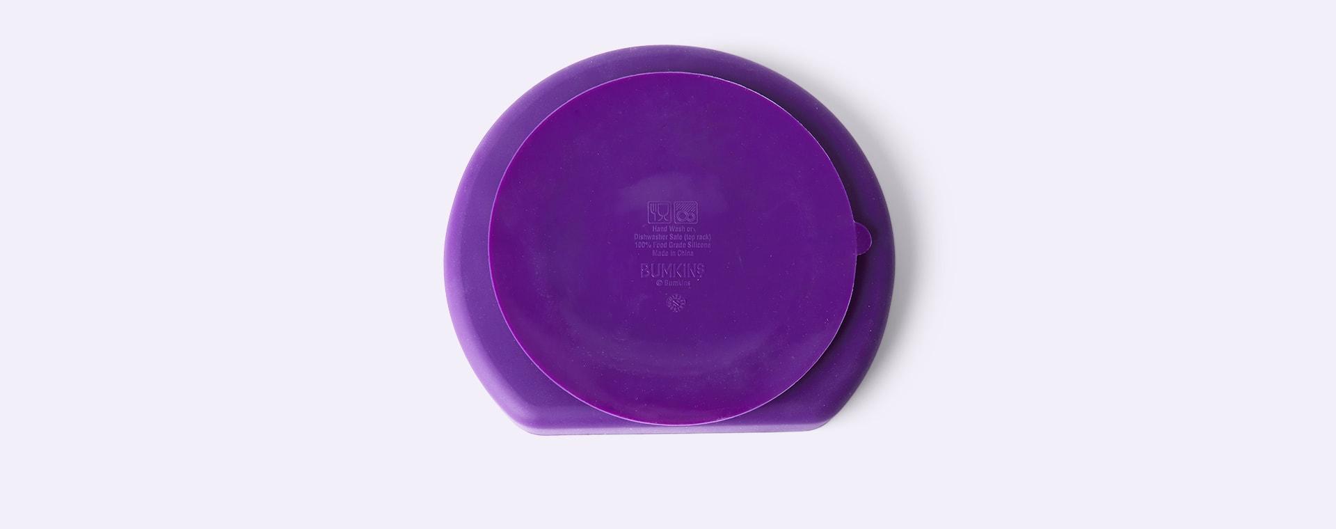 Purple Bumkins Grip Dish