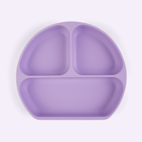 Lavender Bumkins Grip Dish