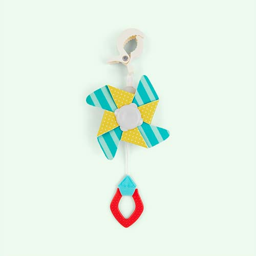 Multi taf toys Pram Pinwheel Clip-On Toy