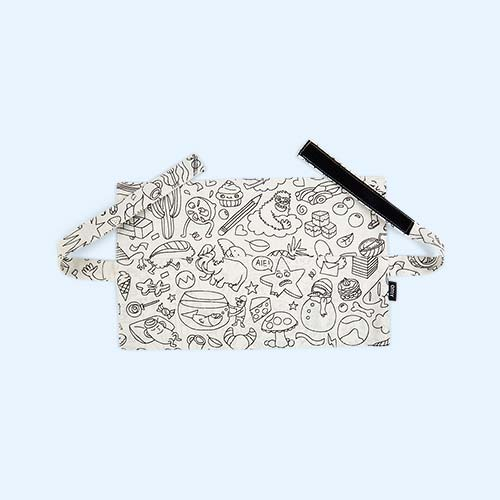 White OMY DESIGN & PLAY Colouring Artist Belt