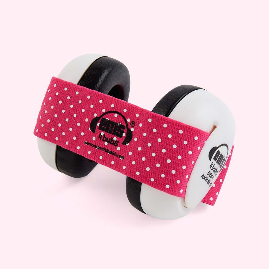 Pink ems for kids Bubs Baby Ear Defenders