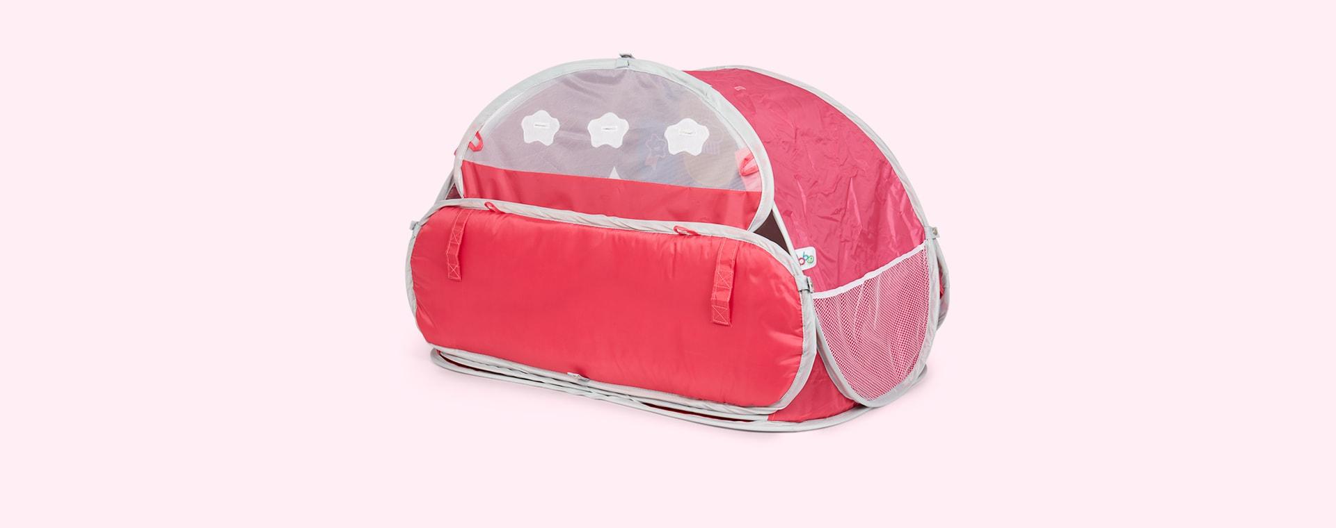 Pink bbgg-baby Luna 2in1 Transformer Gym