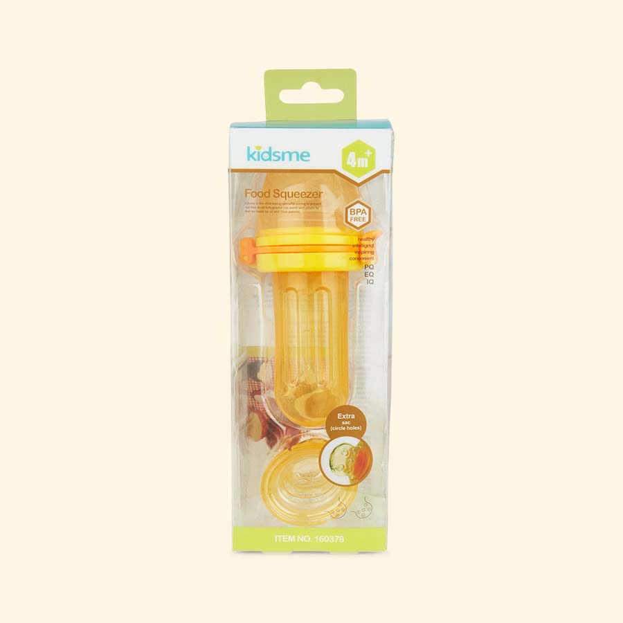 Orange kidsme Food Squeezer