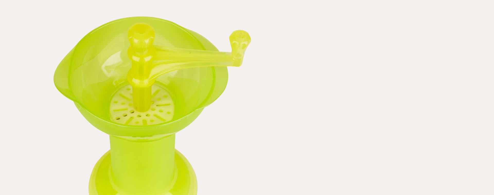 KIDSME BABY FOOD SQUEEZER LIME Source · Lime kidsme Food Grinder