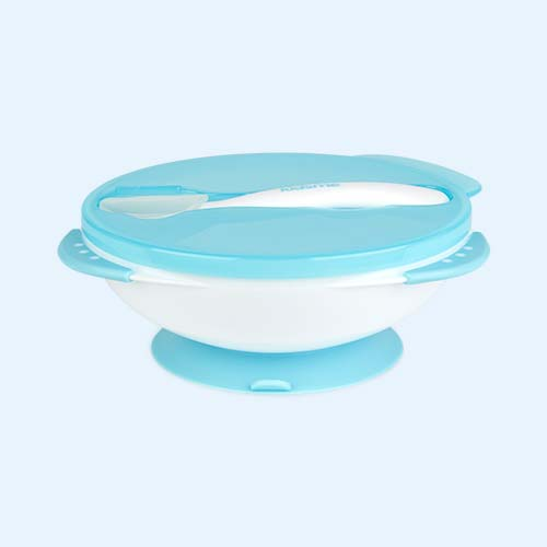 Aqua kidsme Suction Bowl & Spoon Set